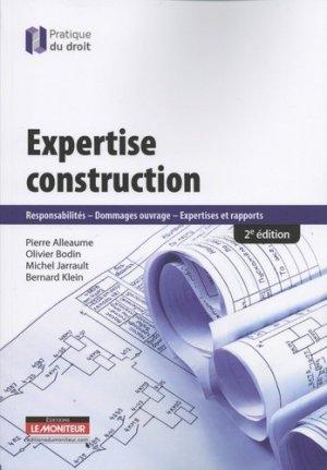 Expertise construction - le moniteur - 9782281133035