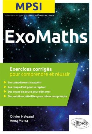 Exomaths Maths MPSI - ellipses - 9782340026971 -