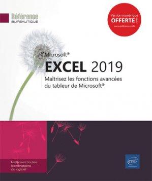 Excel (versions 2019 et Office 365) - eni - 9782409016950 -