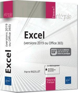 Excel (versions 2019 ou office 365) - eni - 9782409020179 -