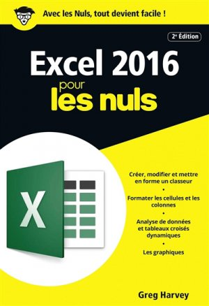 Excel 2016 pour les Nuls - first - 9782412025895 -