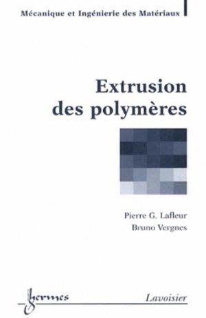 Extrusion des polymères - hermès / lavoisier - 9782746245501 -