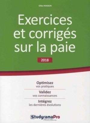 Exercices et corrigés sur la paie - StudyramaPro - 9782759037711 -