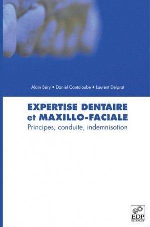 Expertise dentaire et maxillo-faciale - edp sciences - 9782759804870 -