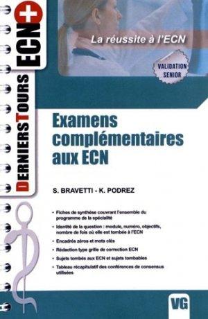 Examens complémentaires aux ECN - vernazobres grego - 9782818306444