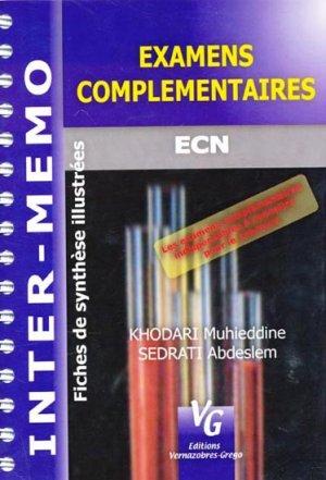 Examens complémentaires - vernazobres grego - 9782841366095
