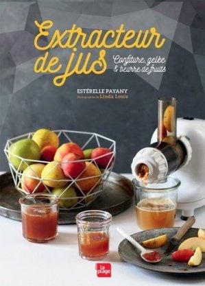 Extracteur de jus confitures, gelée & beurre de fruits - la plage - 9782842215415 -