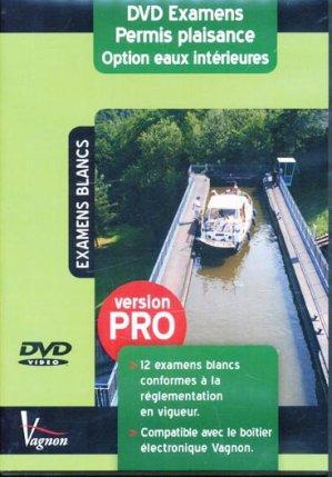 Examens permis plaisance Option eaux intérieures - vagnon - 9782857258162 -