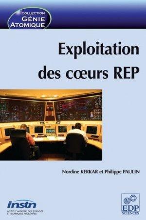 Exploitation des coeurs REP - edp sciences - 9782868839763 -