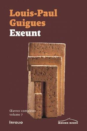 Exeunt - A PRECISER - 9782889680023 -