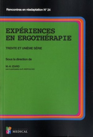 Expériences en ergothérapie - sauramps medical - 9791030301830 -