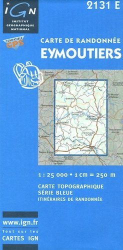 Eymoutiers - ign - 3282112131231 -