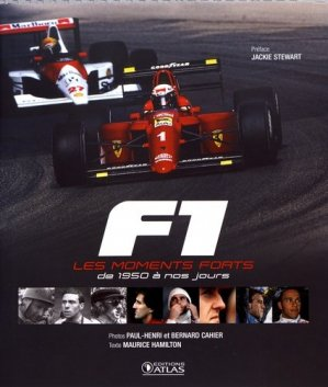 F1, les moments forts - atlas - 9782344025031 -