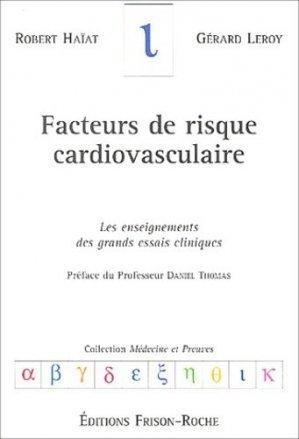 Facteurs de risque cardiovasculaire - frison roche - 2302876714301 -
