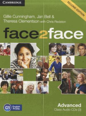 face2face, Advanced - Class Audio CDs (3) - cambridge - 9781107691339 -