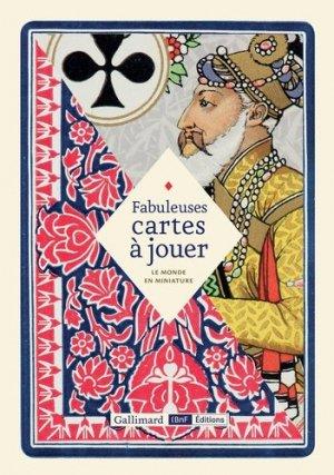 Fabuleuses cartes à jouer. Le monde en miniature - gallimard editions - 9782072709999 -