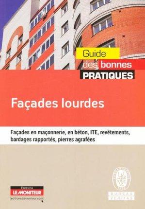 Façades lourdes - le moniteur - 9782281115758 -