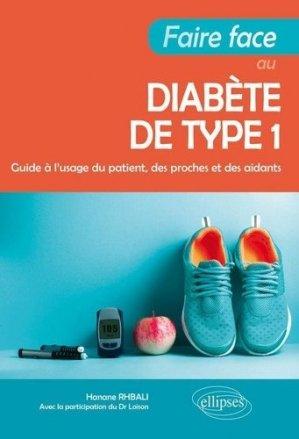 Faire face au diabète de type 1 - ellipses - 9782340032545 -