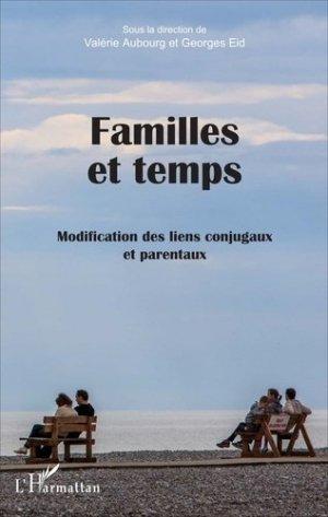 Familles et temps - l'harmattan - 9782343103020 -