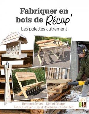 Fabriquer en bois de récup' - martin media - 9782350582900 -