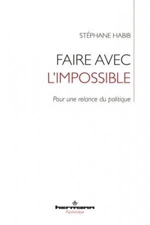 Faire avec l'impossible - hermann - 9782705694401 -