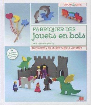 Fabriquer des jouets en bois - massin - 9782707210517 -