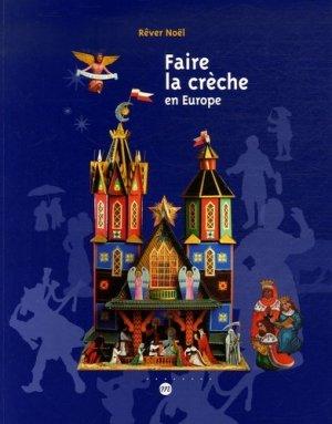 Faire la crèche en Europe. Rêver Noël - RMN - 9782711850655 -