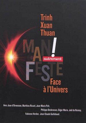 Face à l'Univers : manifeste - autrement - 9782746751583