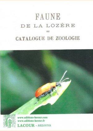 Faune de la Lozère ou catalogue de zoologie - lacour - 9782750430382 -