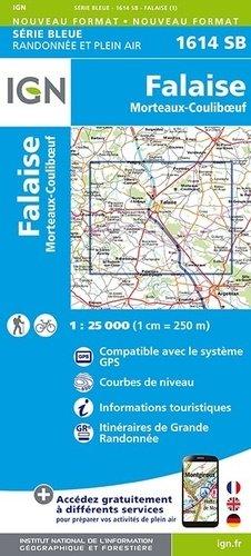 Falaise - Mortaux - Couliboeuf - ign - 9782758535454 -