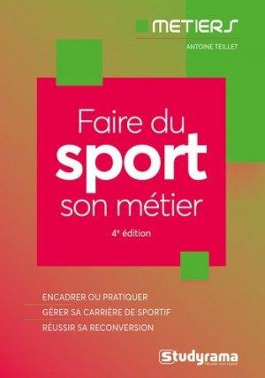 Faire du sport son métier - studyrama - 9782759041268 -