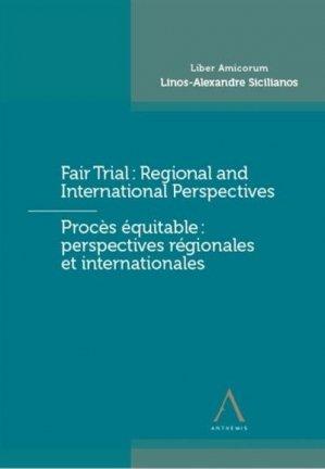 Fair trial - proces equitable - Anthemis - 9782807207042 -