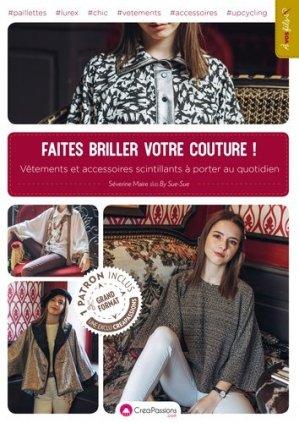 Faites briller votre couture - creapassions - 9782814105683 -