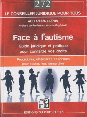 Face à l'autisme - puits fleuri - 9782867394386 -