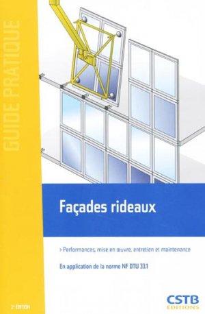 Façades rideaux - cstb  - 9782868915320 -