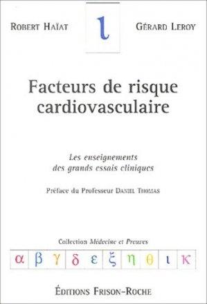 Facteurs de risque cardiovasculaire - frison roche - 9782876714304