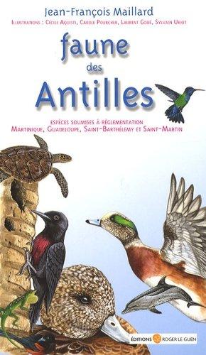 Faune des Antilles - roger le guen - 9782915964011 -