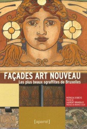 Façades Art nouveau - aparte - 9782930327136 -