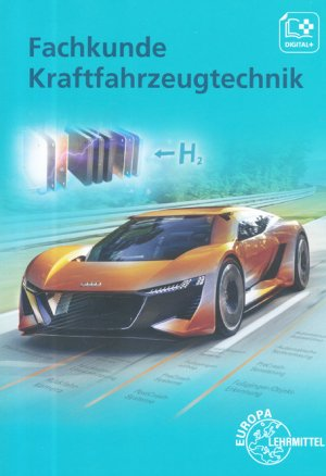 Fachkunde kraftfahrzeugtechnik - europa lehrmittel - 9783808523254 -