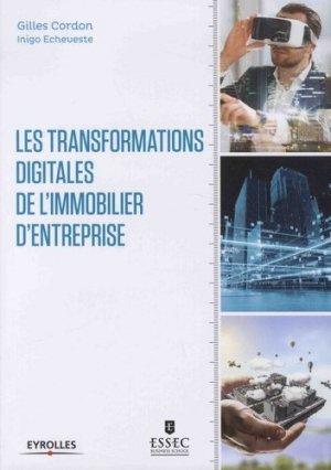 Feuilleter Les transformations digitales de l'immobilier d'entreprise - eyrolles - 9782212675306