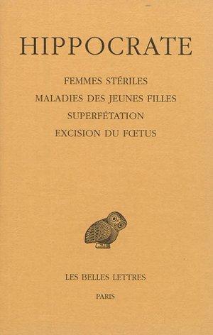 Femmes stériles - Tome XII, 4e partie - les belles lettres - 9782251006192 -