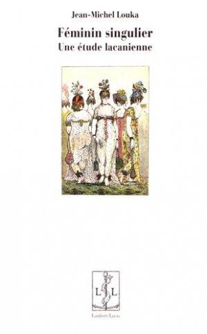 Féminin singulier - lambert-lucas - 9782359351828 -