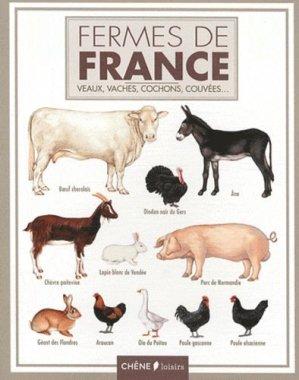 Fermes de France - du chene - 9782812305702 -