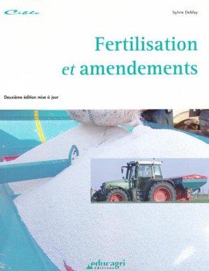 Fertilisation et amendements - educagri - 9782844444622 -