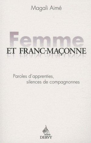 Femme et franc maçonne - Dervy - 9782844546364 -