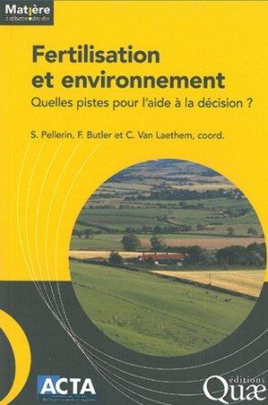 Fertilisation et Environnement - acta - 9782857942801 -