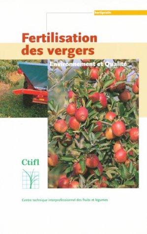 Fertilisation des vergers - ctifl - 9782879112077