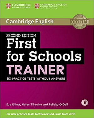 First for Schools Trainer - Six Practice Tests without Answers with Audio - cambridge - 9781107446045 -