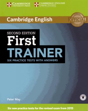 First Trainer - Six Practice Tests with Answers with Audio - cambridge - 9781107470187 -