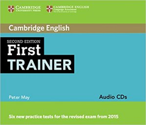 First Trainer - Audio CDs (3) - cambridge - 9781107470217 -